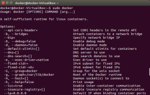 docker command