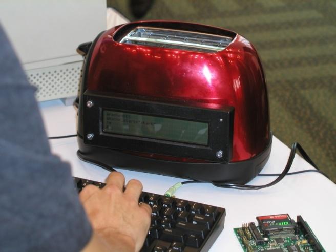 NetBSD on a toaster