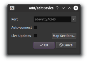 PixelMaestro add device dialog